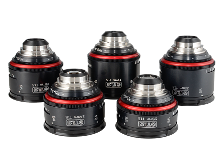 Set of TLS Rehoused Canon K35 Lenses
