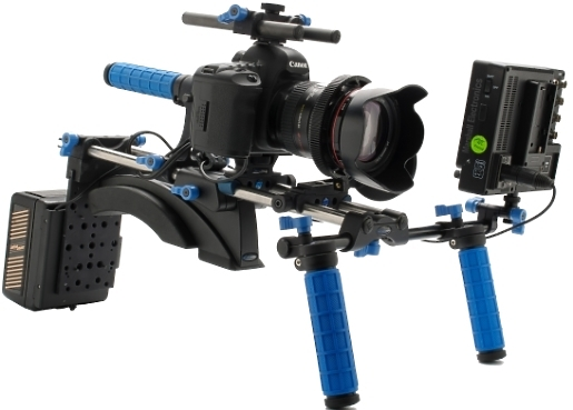 Red Rock Micro Mount  DSLR Rig