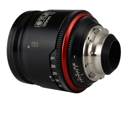 Canon FD 135mm T2 (TLS Rehoused)