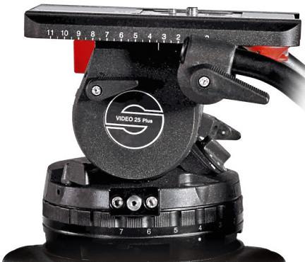 Sachtler Video 25P Head 150mm bowl