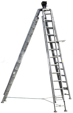 Ladderpod 150mm with 100mm world cup bowl adaptor
