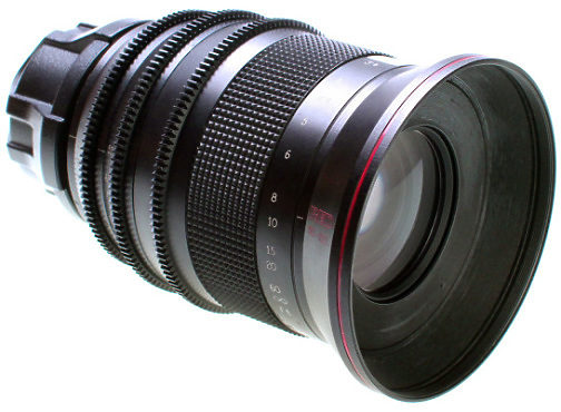 Red 50-150 Zoom lens