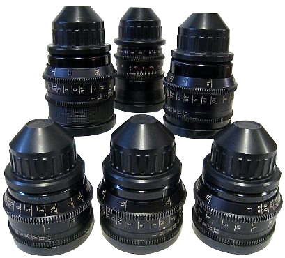 Set of Zeiss Superspeed Lenses