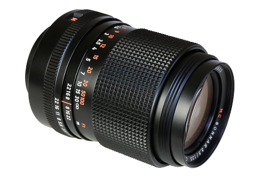 135mm Zeiss Superspeed Lens