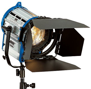 Arri 1,000-watt Light - Fresnel or Open Faced