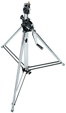 Manfrotto 2 section wind up stand