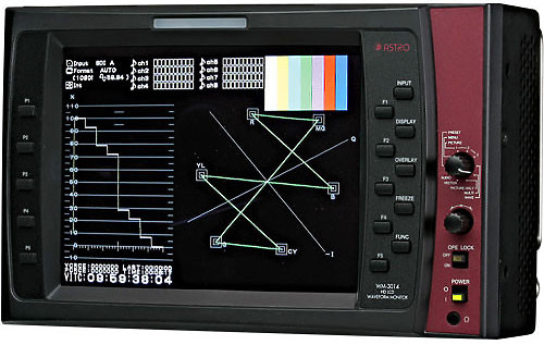 Astro 6 inch  HD LCD Waveform Monitor