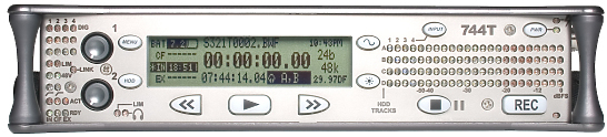 Sound devices 744T Timecode Recorder