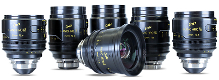 Set of Cooke S4 Mini Prime Lenses
