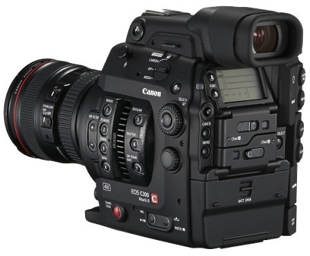 Canon EOS C300 Super 35mm camcorder back