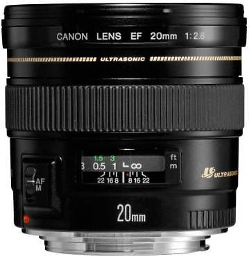 Canon EF 20mm F2.8 Lens