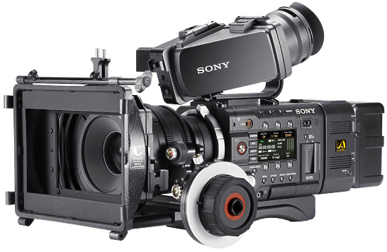 Sony PMW F55 Super 35mm 4K Camcorder