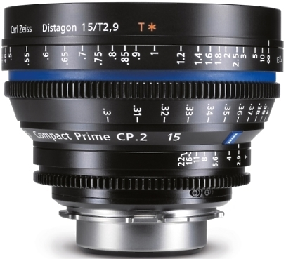 Zeiss CP 15mm T1.5 Lens