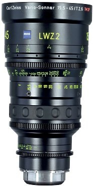 Zeiss CP 15.5-45 T2.6 Zoom Lens
