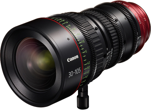 Canon Cine 30-105mm T2.8 Zoom Lens (EF or PL Mount)