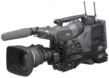 Sony PDW-F800 XDC AM Camcorder left