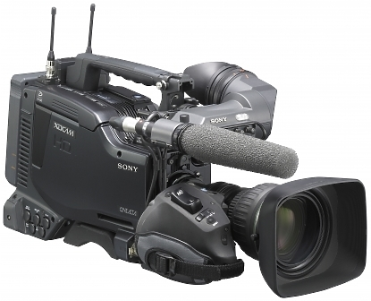 Sony PDW-F800 XDCAM Camcorder right