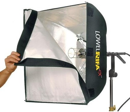 Lowel 500w Rifa Light  - EX55