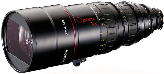 Angenieux 24 - 290mm T2.8 Optimo Zoom Lens