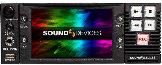 Sound Devices Pix 270i Recorder