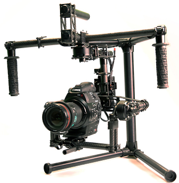 Freefly Movi M10 3-Axis Digitally Stabilized Camera Gimbal