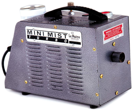 Le Maitre Mini Mist Turbo Smoke Machine