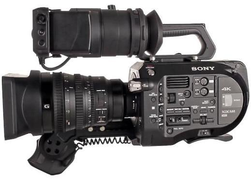 Sony PXW FS7 Camcorder side