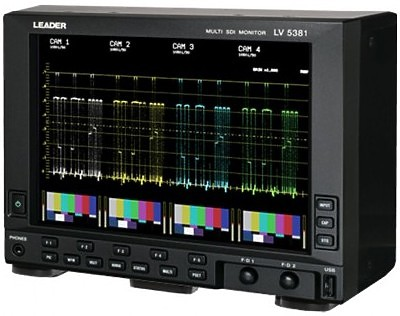 Leader LV5380 Waveform Vectorscope