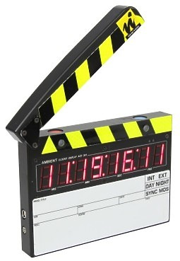 Ambient ACD 301RF Timecode Slate