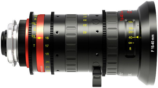 Angenieux Optimo Style 16-40mm T2.8 Lens