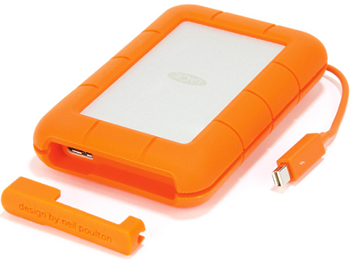 2Tb Lacie Rugged USB3 and Thunderbolt