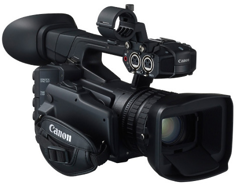 Canon XF205 Camcorder right