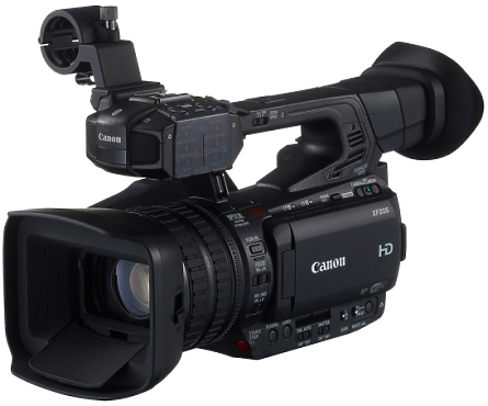 Canon XF205 Camcorder left