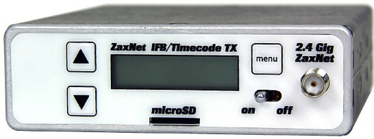 Zaxcom IFB200 Transceiver with built-in recorder