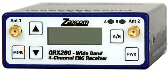 Zaxcom QRX200 4 Channel Receiver