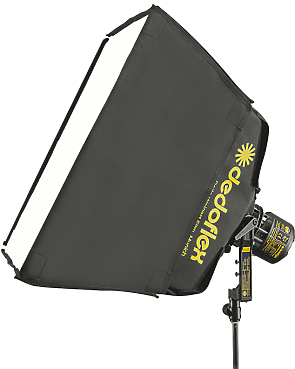 Dedolight DSBSM Dedoflex Medium SilverDome Soft Box