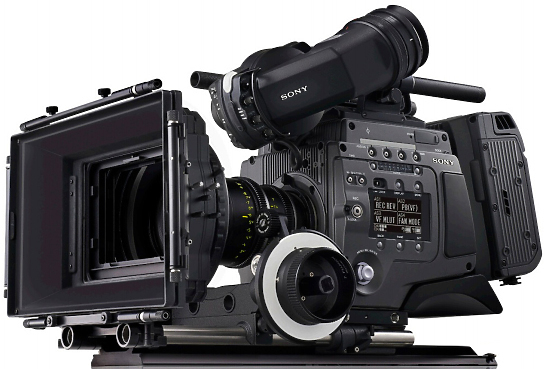 Sony F65 Super 35mm 8K CMOS sensor SRMASTER camera