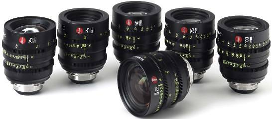 Leica Summicron-C set of 7 PL lenses
