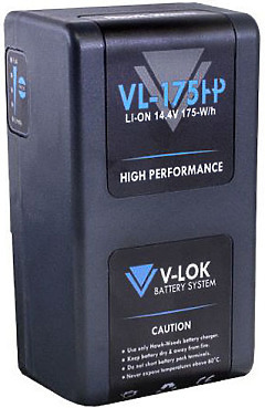 Hawk-Woods VL-175H 175Wh 14.4v High Performance Lithium-Ion Battery