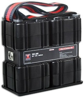 Hawk-Woods XB2-600 High Power Battery Box 24V 600Wh