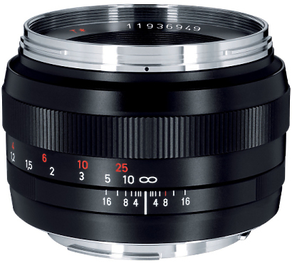 Zeiss Planar 50mm Prime Lens EF Mount
