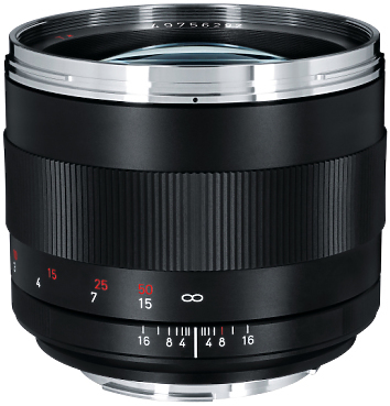 Zeiss Planar 85mm T1.4 Prime Lens EF Mount