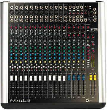 Soundcraft M12 Mixer