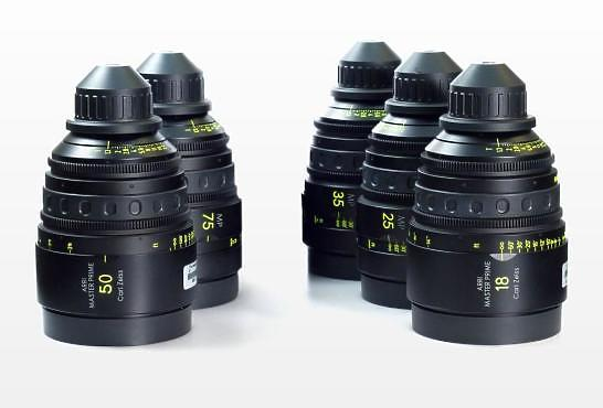 Set of Arri Master Primes T1.3 F
