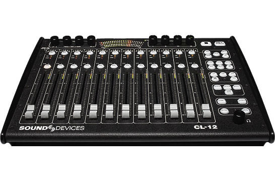Sound Devices CL-12 Linear Fader Controller