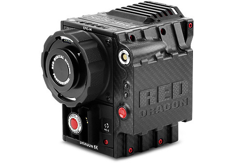RED EPIC-M DRAGON Carbon Fibre
