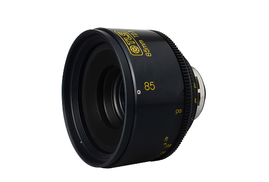 TLS PL 58mm Petzval Lens left