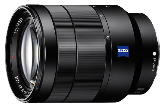Sony 24-70mm Lens left