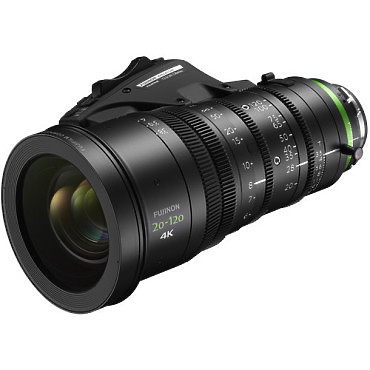 Fujinon XK6x20 20-120mm lens left