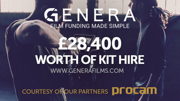 Advert detailing the Procam kit offer of £28,400 worth of kit